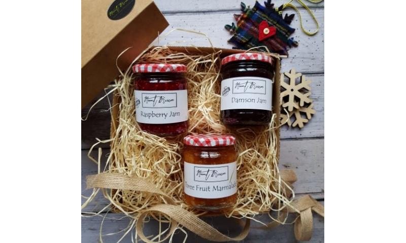 Christmas Trio Gift Box Breakfast Marmalade & Jams
